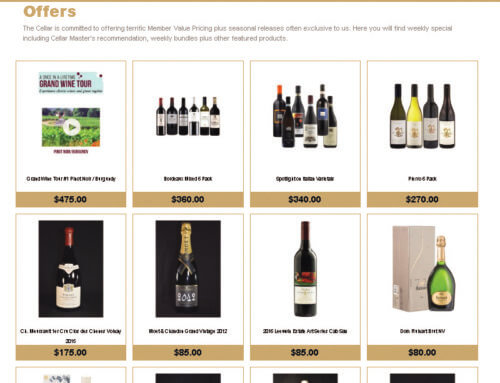 Online Access To Your Private Cellar